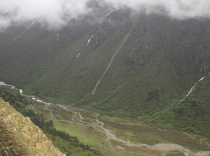 Kalep valley from Dewthang